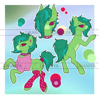 [OPEN] ADOPT Auction - Pony in Pink by Likaniya