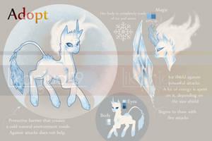 [OPEN] ADOPT Auction - Pony of ice by Likaniya