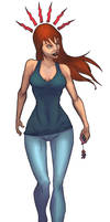 mary jane color by salo-art