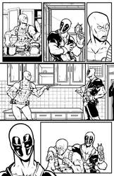 marvel test Deadpool 001 by salo-art