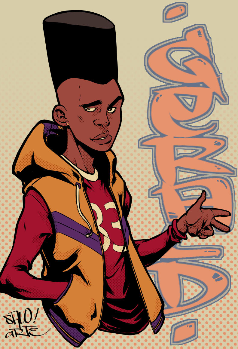 Gerald Hey Arnold! by salo-art