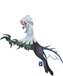 Leaping Silvally by Hogia