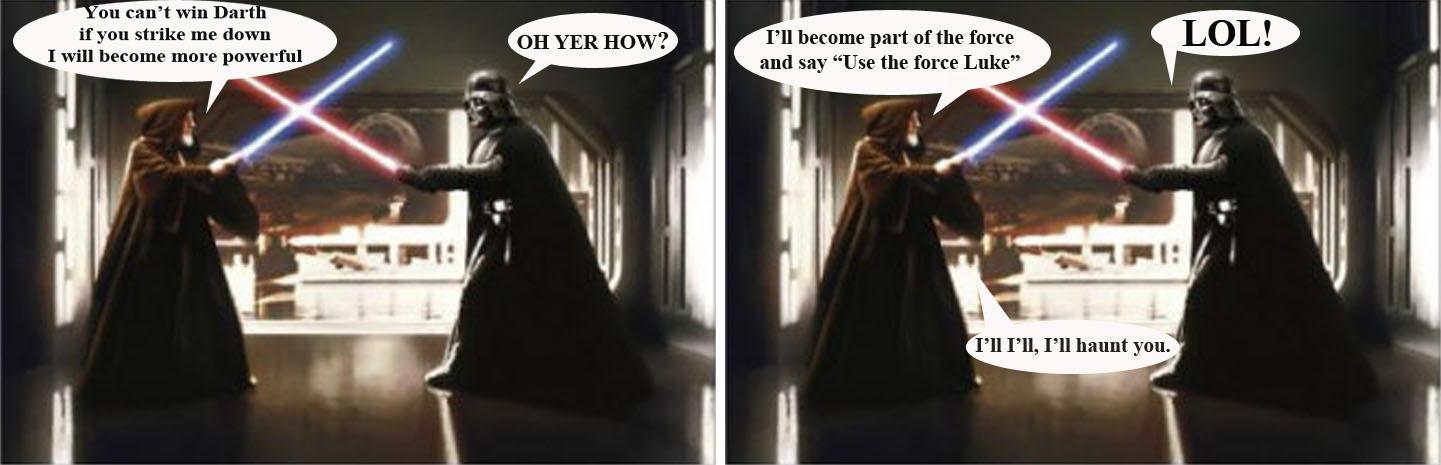 Ben Vs Darth Vader By Queen Padme On Deviantart