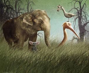 Darwins Circus by NooYawkGurrl