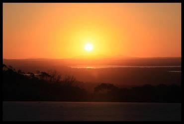 Sunset by Haufschild
