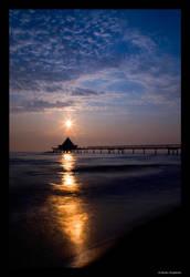 A Sunrise at Baltic Sea by Haufschild