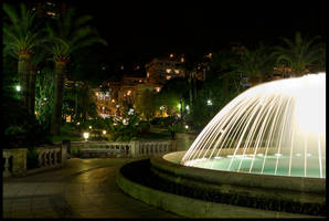 Park in Monte Carlo by Haufschild
