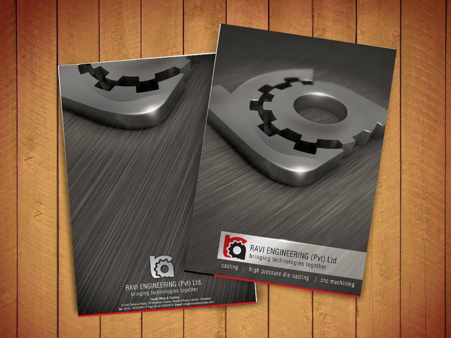 corporate brochure Ravi by Naasim