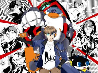 [Art contest]NicoB Persona 5 by sallyatoyota