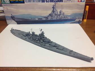 The battleship of Legend by FRIEND711