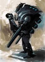 Robot Design by SPACESKULL