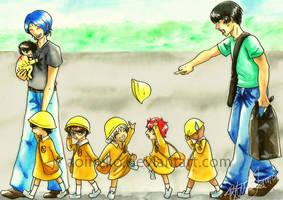 PoT: Rikkai Kindergarteners by aoineko
