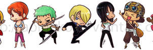 One Piece: Stickers by aoineko