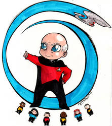 Chibi Picard by spikecomix