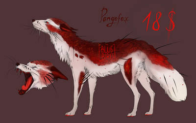 ADOPT! Pangofox by Electra-wolf