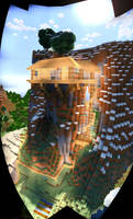 RIVANE's Forge House    Single Player Build by MinecraftPhotography