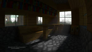 Village Room   Minecraft Render and Wallpaper by MinecraftPhotography