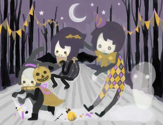 Halloween Walk by kuri