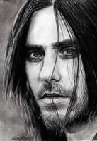 JARED LETO DRAWING by Bluecknight
