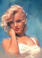 Marylin Monroe by artistamroashry