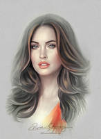 Pretty Face - Megan Fox by artistamroashry