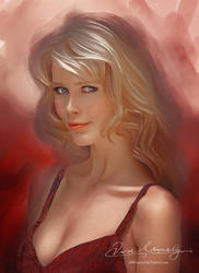 Beautiful Eyes CLAUDIA SCHIFFER by artistamroashry