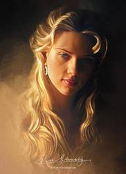 Pretty Face P2 - Scarlett Johansson by artistamroashry