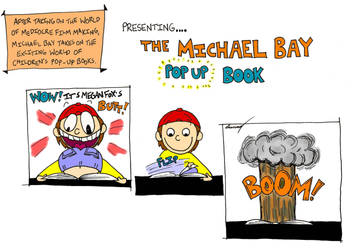 The Michael Bay Pop-up Book by SunnyArts