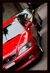 Honda Accord TypeR Sleep by miki3d