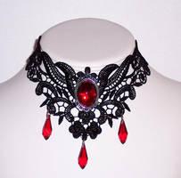 lace collar by BabyReiko