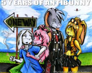 5 years of AntiBunny by Fragraham