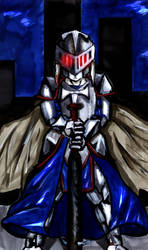 Dark Knight Nailbat by Fragraham