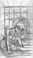 Window seat by Fragraham