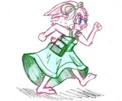 Running Penelope by Fragraham