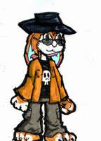 Bunny Me (orange version) by Fragraham