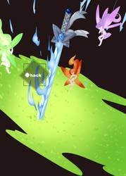 FC: Blue Flame Fairy Sword by Hackwolfin
