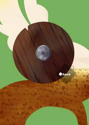 FC: Wooden Shield by Hackwolfin