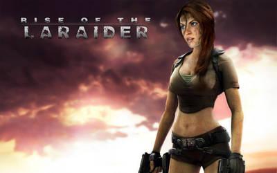 [Laraider] Montage Lara Croft 47 by laraider-com