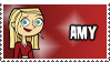 Total Drama Stamp - Amy by 100latino