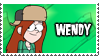 Wendy's Stamp by 100latino