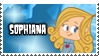 Sophiana's Stamp by 100latino
