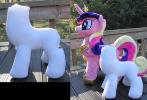 Plushie Filly Prototype 1 by The-Crafty-Kaiju