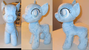 Filly/Snowdrop Plushie WIP 1 by The-Crafty-Kaiju