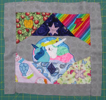 Finished EFNW Charity Quilt Square S1 E2 by The-Crafty-Kaiju