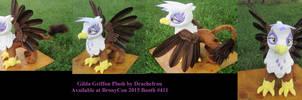 Feathered Gilda Griffon Plush by The-Crafty-Kaiju