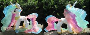 Princess Celestia Charity Plush by The-Crafty-Kaiju