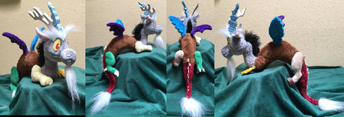 Discord Shoulder Plush More Views by The-Crafty-Kaiju