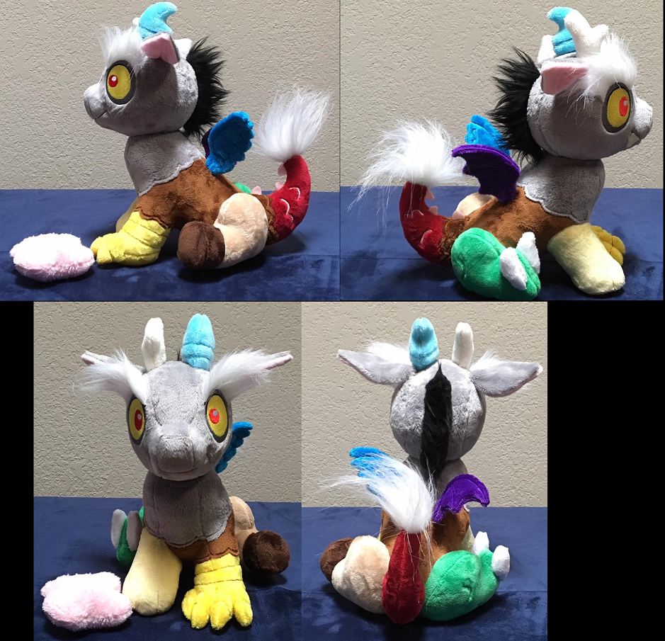 Baby Discord Plushie Group by The-Crafty-Kaiju