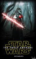 Star Wars ep VII [The Force Awakens] Fan-art by Drumpower