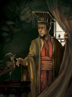 The emperor and the nightingale by Lenqi